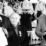 Foto: Simion Plămădeală decorat de Traian Băsescu – Ordinul Meritul Cultural în grad de Ofiţer