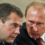 Joc nou. Aceiaşi jucători! Putin – preşedinte, Medvedev – premier