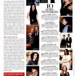 Sandra Pralong, in Top 10 Super-Networkers, realizat de revista Harper's Baazar