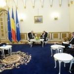 Eugen Tomac a participat la întrevederea dintre Traian Băsescu și Knut Vollebaek. Minoritatea românească din Republica Serbia