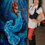 Irina Negulescu a cucerit America prin picturile ei…