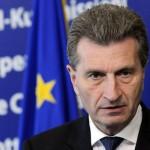 Comisarul european Gunther Oetingger vrea să viziteze Republica Moldova