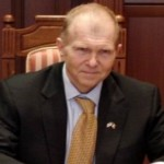 William H. Moser, ambasadorul Americii în Republica Moldova, a organizat alegeri simbolice la Chişinău
