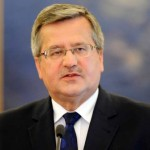 Bronislav Komorowski, preşedintele Poloniei: Locul Republicii Moldova este alături de statele din vestul Europei