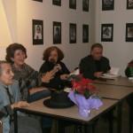 FOTO: Sandra Pralong la lansarea cărții Sandei Budiș