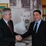 Cristian David – întrevedere cu ambasadorul Republicii Serbia, Zoran Popovici