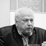 FOTO: Ovidiu Enculescu si Mireille Rădoi la lansarea cărții lui Larry Watts, Cei dintâi vor fi cei din urmă