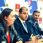 """FOTO – Cristian Socol, Antonia Colibășanu, Adrian Marius Dobre și Daniel Dăianu au participat la conferința """"Creșterea economică și dezvoltarea echitabilă"""""""