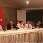 FOTO: Ionel Blanculescu, Vasile Iuga, Iulian Chifu, Claudiu Cercel, Constantin Nita la Romanian Energy Forum 2013