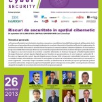 """Iulian Fota vorbitor la """"Riscuri de securitate în spaţiul cibernetic"""", BCU"""