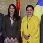 """Mireille Rădoi: A fost semnat acordul de parteneriat dintre Biblioteca Centrală Universitară """"Carol I"""" și Biblioteca Națională din Lima"""