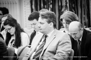 FOTO: Constantin Niță, Alexandra Gătej, Marius Stoian, Mihnea Constantinescu și Claudiu Cercel la Energy Security in Central Europe