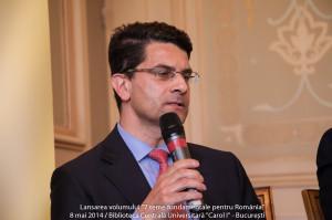 Laurențiu-Mihai Ștefan, la ceremonia de inaugurare a noului Canal Suez