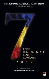 """Dan Dungaciu la Bookfest – lansarea volumului """"7 teme fundamentale pentru România 2014"""""""