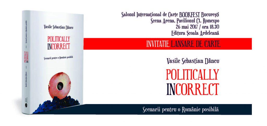 Vasile Dincu_Lansare Bookfest_Invitatie